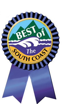 Image of the Best of the South Coast Ribbon